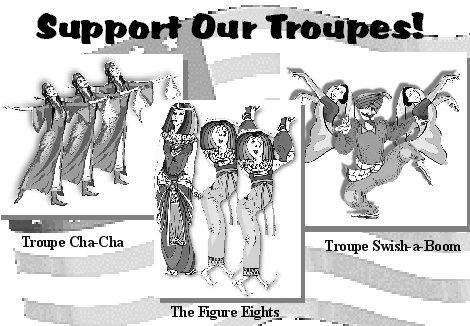 Support Our Troupes!